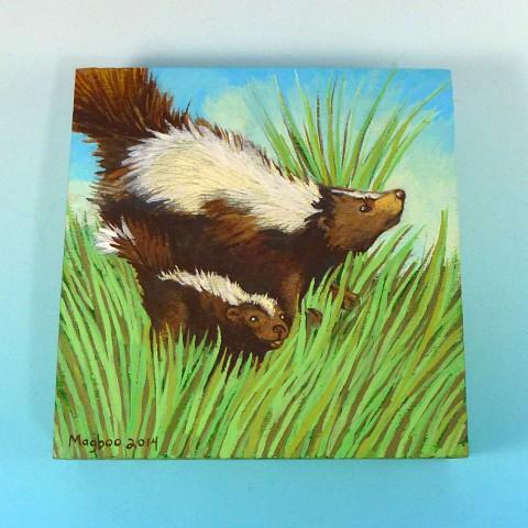 skunk family1