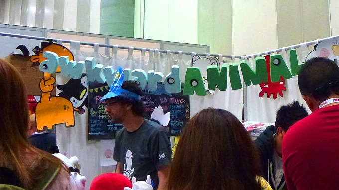 Awkward Animal booth