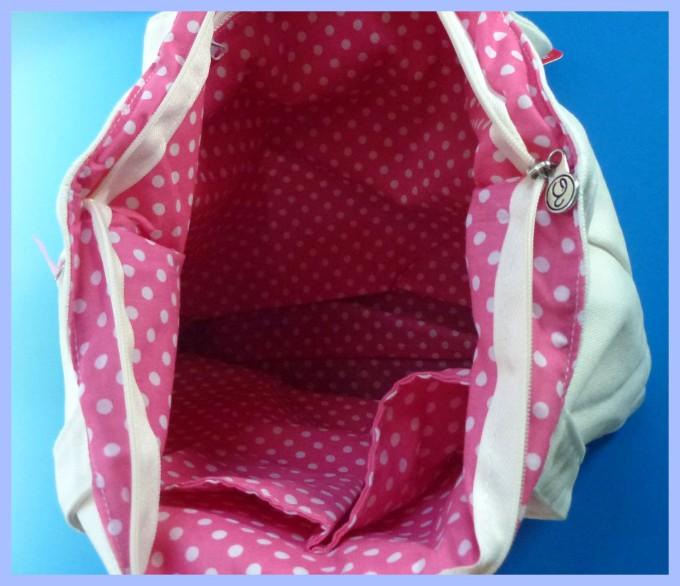 Interior of Bag