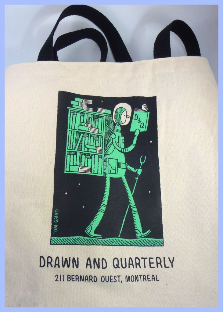 Drawn and Quarterly tote bag