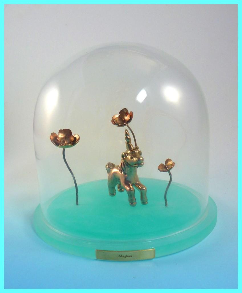 Unicorn diorama