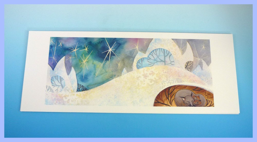 Helen Yoon fox print