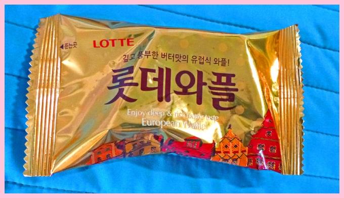 Lotte European Waffle Cookies