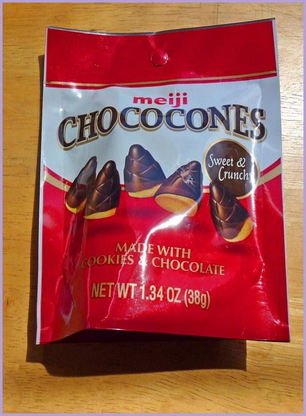 Chococones by Meiji