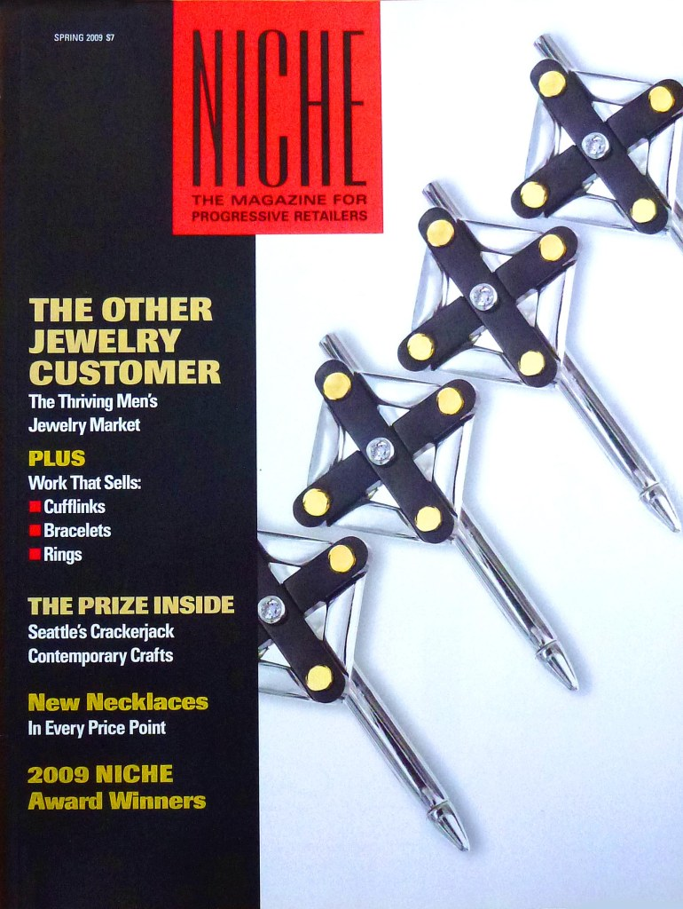 "This is the cover of the Niche Magazine Spring 2009 issue that features the article, ""2009 Niche Award Winners"""