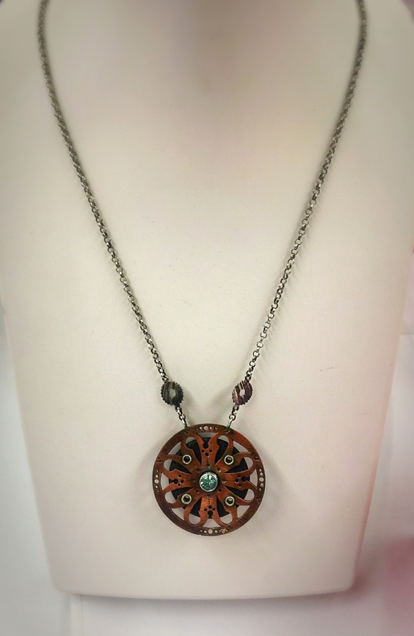 "Betsy Kinsey's Necklace: ""a do"" necklace. Her piece was chosen for ""Best in show""!"