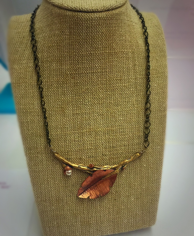 Michelle Loon's Necklace: The Golden Birch