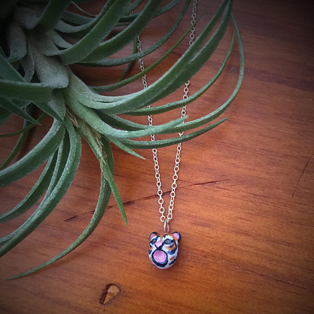 My tiny tiger necklace